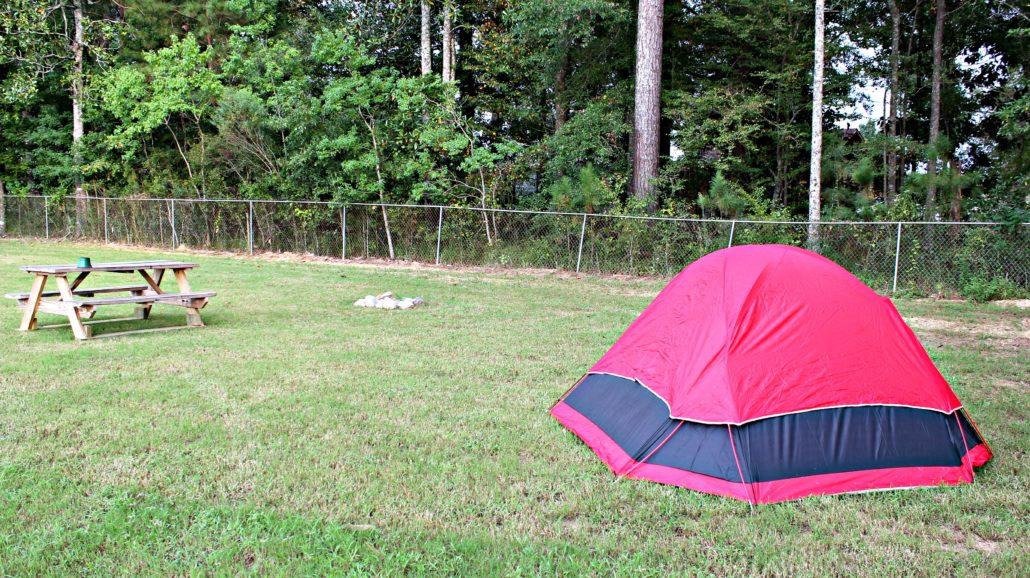 Cypress Landing RV Park-Tent site