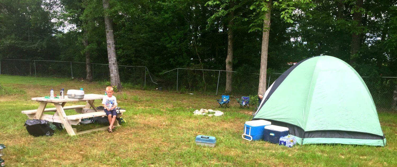 Cypress Landing RV Park tent site