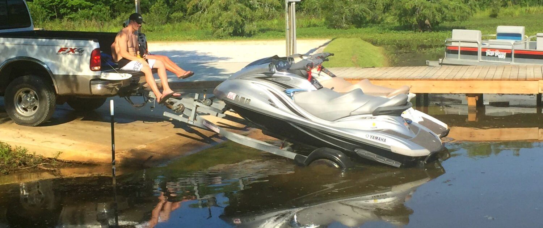 Cypress Landing RV Park boats